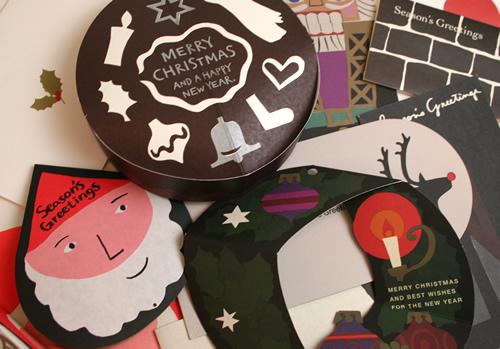 クリスマスカード 種類